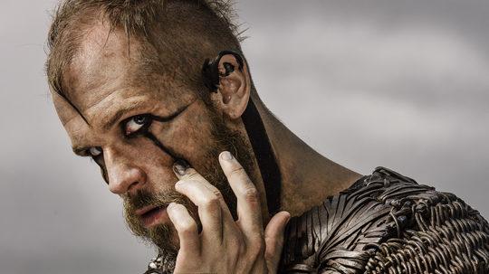 Curiosidades de Vikingos Maquillaje