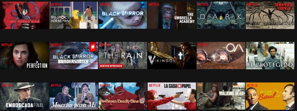 Netflix: la empresa del entretenimiento por excelencia Series