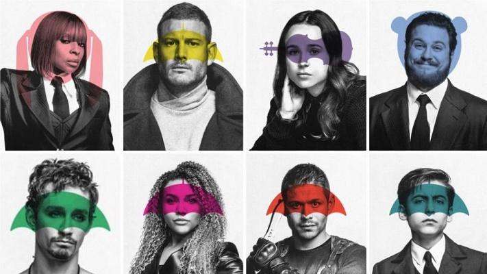 Las series más esperadas de Netflix en julio: The Umbrella Academy