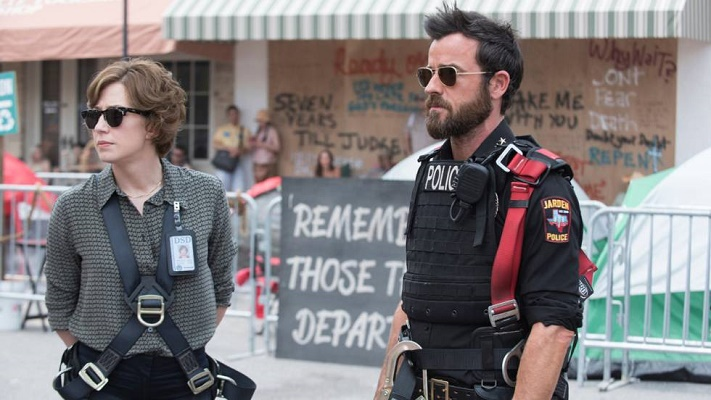 Kevin Garvey (Justin Theroux) y Nora Durst (Carrie Coon)