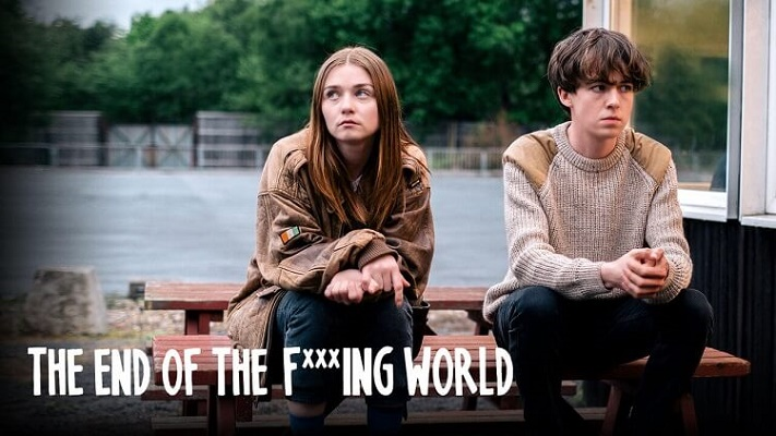 Series británicas en Netflix: The end of the f***ing world