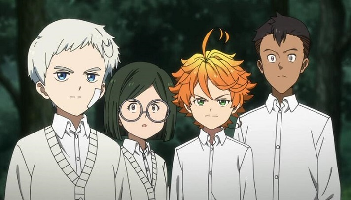 Personajes de The Promised Neverland