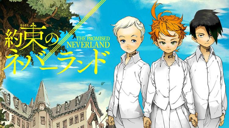 Diez series de Netflix de 2020: The Promised Neverland