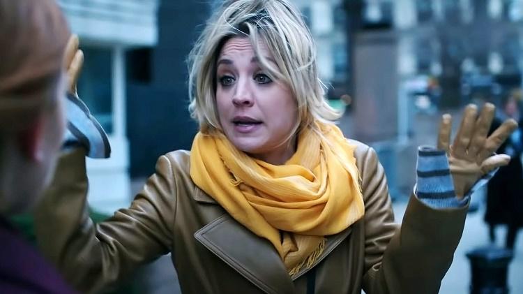 Kaley Cuoco ebria en la serie de HBO Max